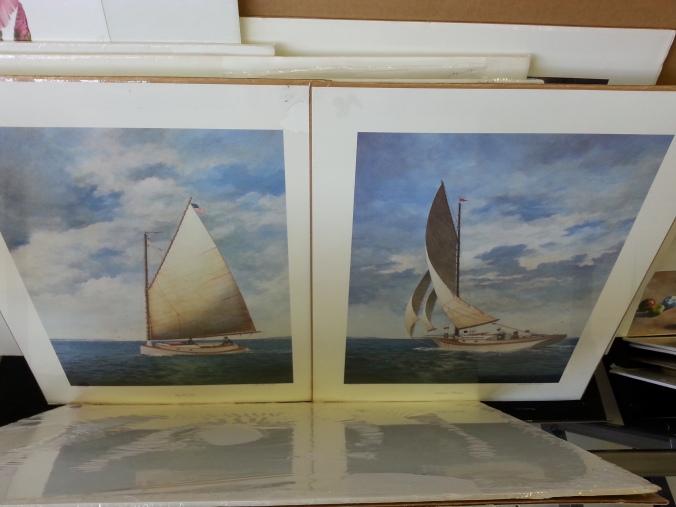 Sailing-prints